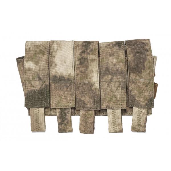 [Rarog] Подсумок для 5 гранат ВОГ-25,MOLLE - A-Tacs AU