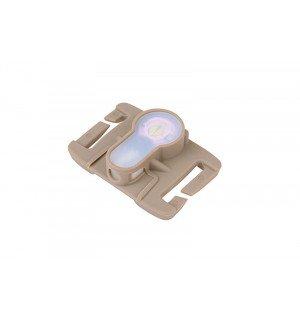 Lightbuck MOLLE electronic marker - dark earth (red light)