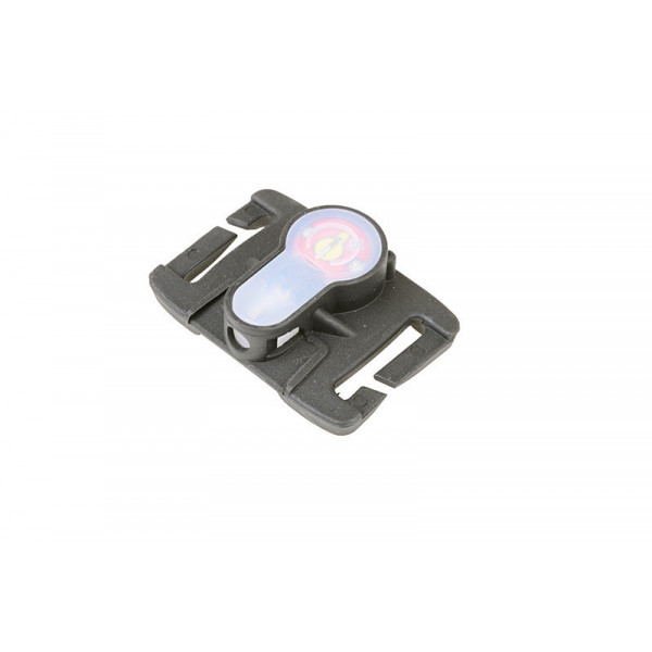 Lightbuck MOLLE electronic marker - black (red light)