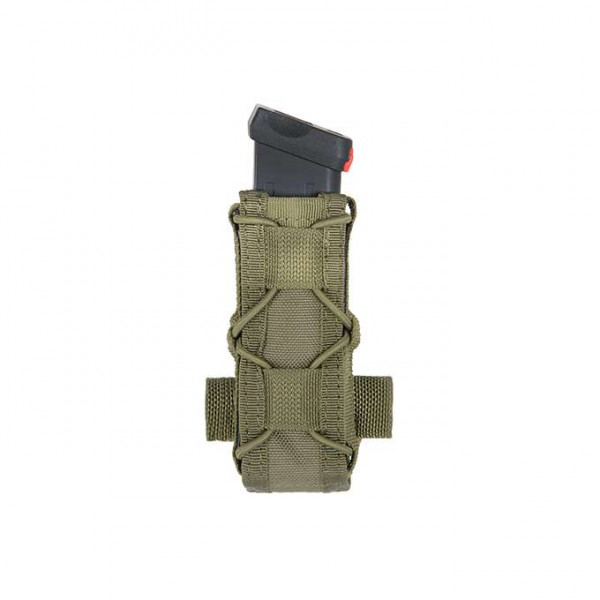 BELT MOUNTED PISTOL MAG SPEED POUCH - OLIVE [8FIELDS]