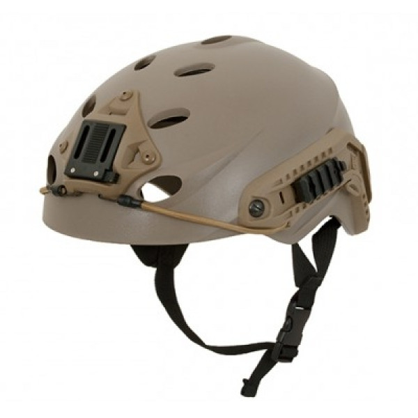 SPECIAL FORCE TYPE TACTICAL HELMET - DARK EARTH [FMA]