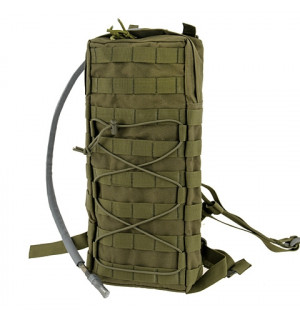 [8 FIELDS] TACTICAL HYDRATION CARRIER MOLLE W/STRAPS - OLIVE