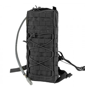 TACTICAL HYDRATION CARRIER MOLLE W/STRAPS - BLACK [8FIELDS]