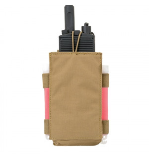 [8 FIELDS] MBITR RADIO POUCH - COYOTE. ПОДСУМОК ПОД РАДИОСТАНЦИЮ - КОЙОТ