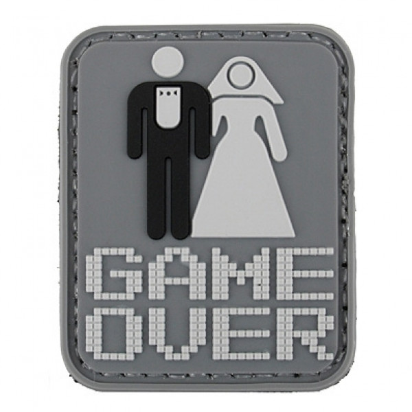 ПВХ ПАТЧ GAME OVER [8FIELDS]