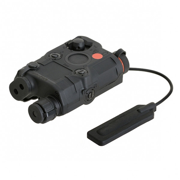 AN-PEQ-15 LIGHT + RED LASER WITH IR LENSES - BLACK [FMA]