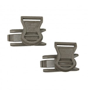 GOGGLE SWIVEL CLIPS (19mm) - FOLIAGE