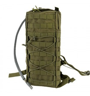 TACTICAL HYDRATION CARRIER MOLLE W/STRAPS - OLIVE [8FIELDS]