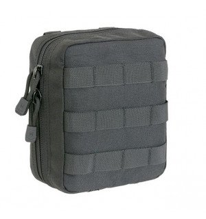 BIG MEDICAL POUCH MOLLE - BLACK. БОЛЬШОЙ МЕДЕЦИНСКИЙ ПОДСУМОК [8FIELDS]
