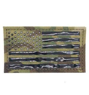 ПВХ ПАТЧ USA FLAG - MULTICAM [EM]