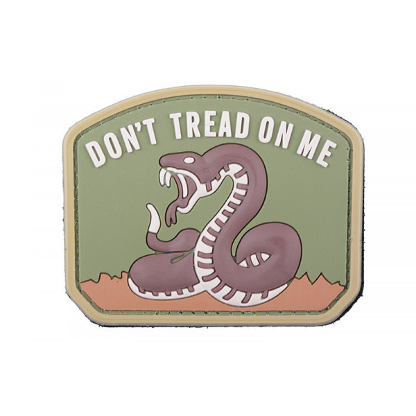 Dont tread on me patch - coyote