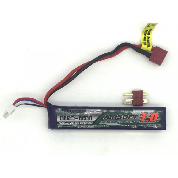 Turnigy NANO-TECH 11.1V 1000mAh 20-40C