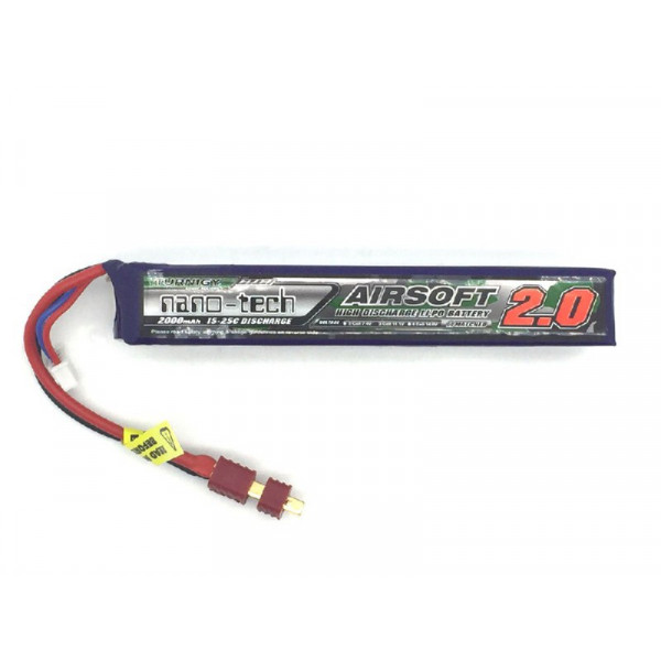 Turnigy NANO-TECH 11.1V 2000mAh 15-25C моноблок