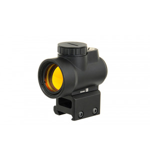 1X25 MINIATURE RIFLE REFLEX SIGHT - BLACK реплика прицела Trijicon MRO