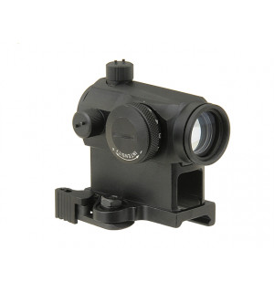 MICRO RED DOT SIGHT WITH HIGH QD MOUNT - BLACK replika aimpoint t-1