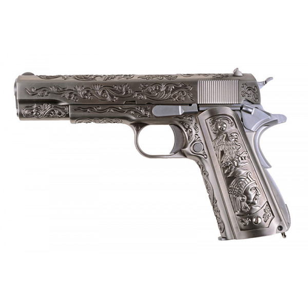 WE пистолет 1911 Etched Version pistol replica