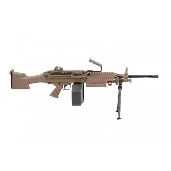 [A&K] пулемет M249 Mk 2 Tan