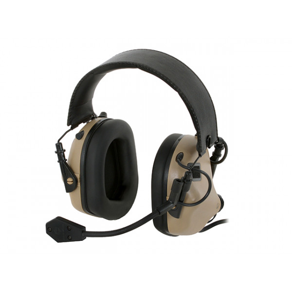 M32 ELECTRONIC COMMUNICATION HEARING PROTECTOR - TAN [EARMOR]