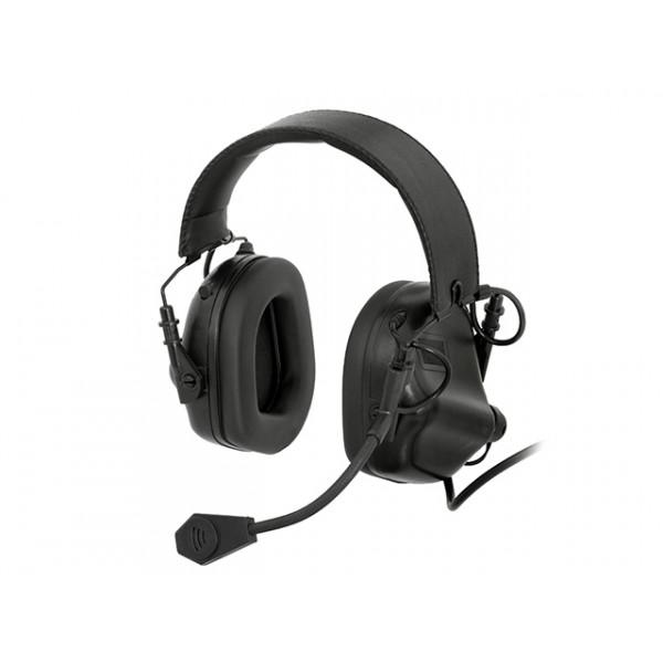 M32 ELECTRONIC COMMUNICATION HEARING PROTECTOR - BLACK [EARMOR]