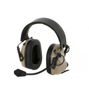 M32 ELECTRONIC COMMUNICATION HEARING PROTECTOR - TAN [EARMOR]