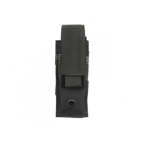SINGLE POUCH FOR PISTOL MAGAZINES - BLACK [8FIELDS]