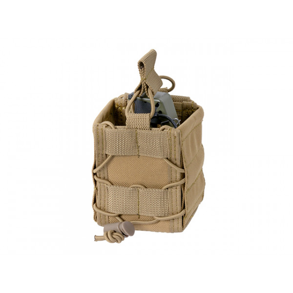 VERSATILE FRAG GRENADE POUCH - COYOTE [8 FIELDS]