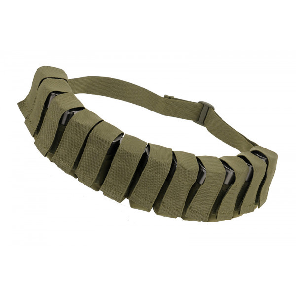BANDOLIER GRENADE POUCH - OLIVE [8FIELDS]
