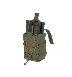 MOLLE DOUBLE RIFLE MAG SPEED POUCH - OLIVE [8FIELDS]