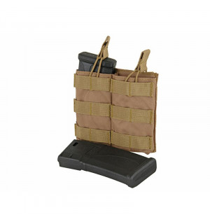 MODULAR OPEN TOP DOUBLE MAG POUCH FOR 5.56 - COYOTE [8FIELDS]