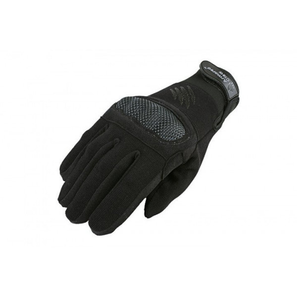 [ARMORED CLAW] SHIELD TACTICAL GLOVES - BLACK