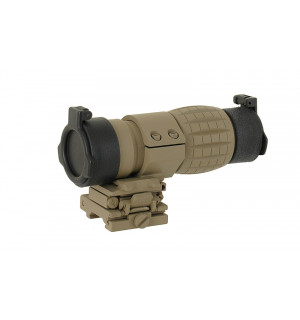 [AIM-O] Оптический прицел TACTICAL 3X MAGNIFIER Dark Earth