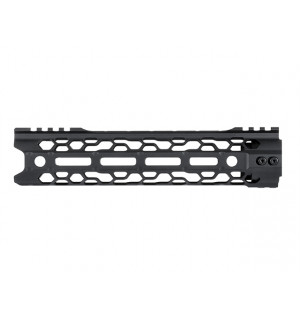 "9.5"" SKELETONIZED MLOCK HANDGUARD - BLACK [KUBLAI]"