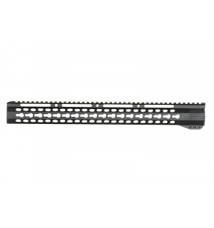 "[Vector Optics] 17"" KEY-MOD FREE FLOAT HANDGUARD - BLACK"