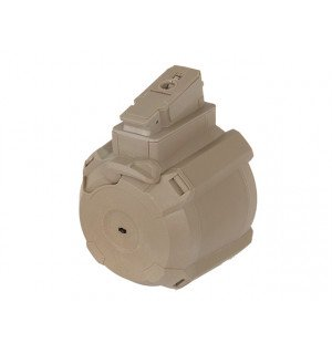 [BATTLEAXE] Електро-бункер для РПК/АК на 1200 шаров TAN