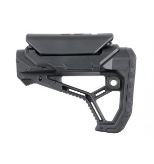 [KUBLAI] Приклад тактический AR15/M4 STOCK WITH INTEGRATED CHEEK WELD - BLACK