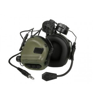 M32H ELECTRONIC COMMUNICATION HEARING PROTECTOR FOR FAST HELMETS - FG [EARMOR]