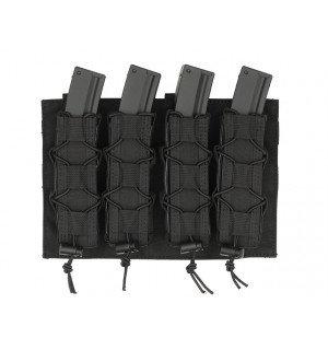 [8 FIELDS] Платформа-подсумок под магазины для Пистолет-пулеметов на МОЛЛЕ - черный