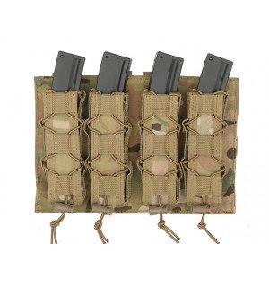 [8 FIELDS] Платформа-подсумок под магазины для Пистолет-пулеметов на МОЛЛЕ - MultiCam