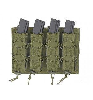 [8 FIELDS] Платформа-подсумок под магазины для Пистолет-пулеметов на МОЛЛЕ - Олива