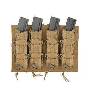 [8 FIELDS] Платформа-подсумок под магазины для Пистолет-пулеметов на МОЛЛЕ - Тан