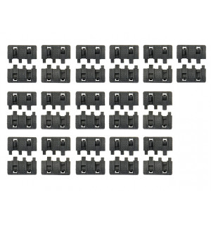 [MP] Накладки 16-PIECE RAIL PANEL KIT - BLACK