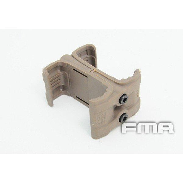 [FMA] Спарка для 2-х магазинов M4/M16 Tan