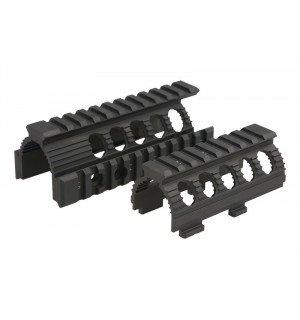 AK74U QUAD-RAIL HANDGUARD - BLACK [CYMA]