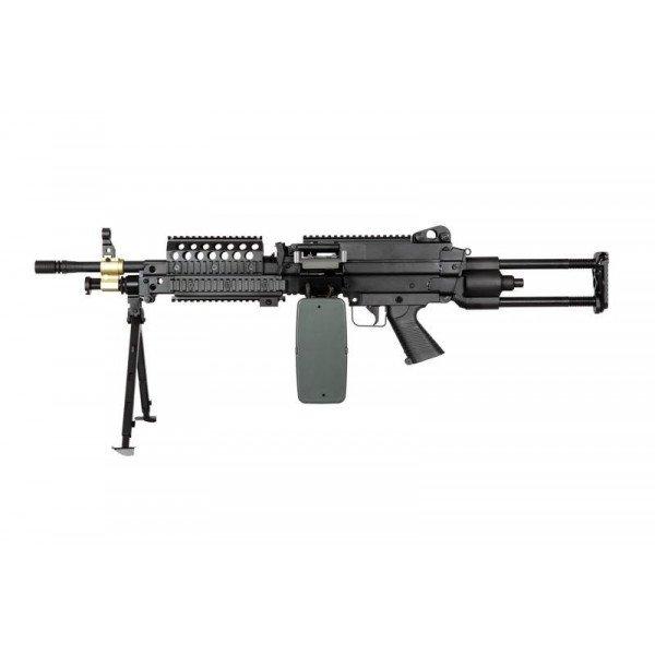 [A&K] Пулемет M249 SPW Machinegun
