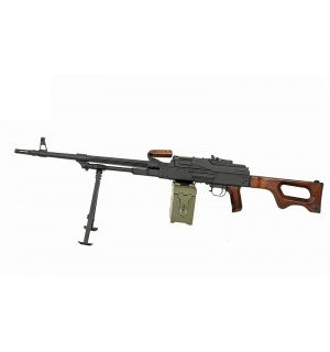 [A&K] PKM Real Wood - Machine Gun