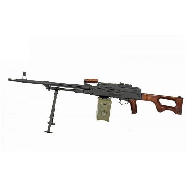 [A&K] PKM Real Wood - Machine Gun