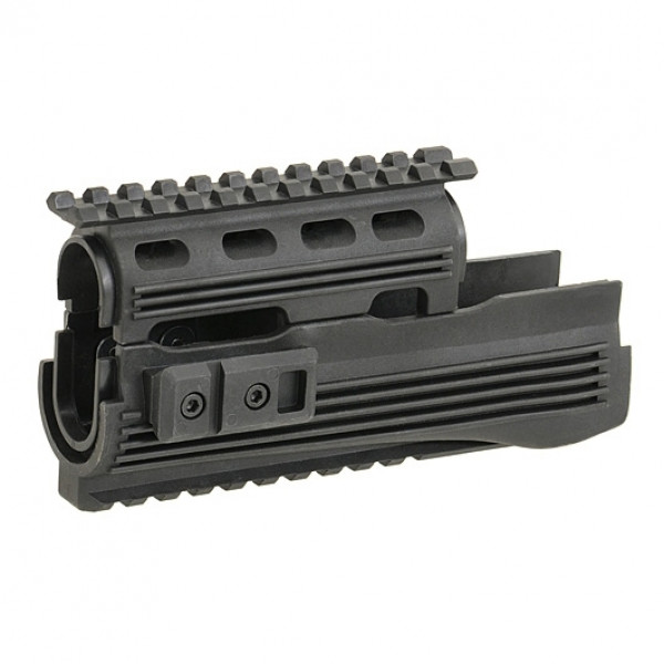 UPPER AND LOWER RAILED HAND GUARD FOR AK. ЦЕВЬЕ С RIS ДЛЯ АК 74 [CYMA]