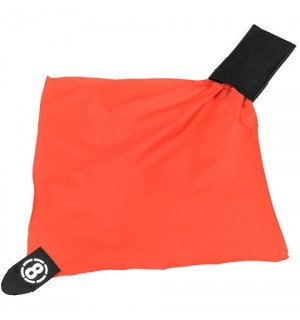 AIRSOFT DEAD RED RAG POCH - BLACK [8FIELDS]