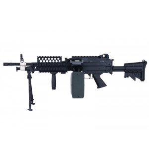 [A&K] M249 MK46 - BLACK