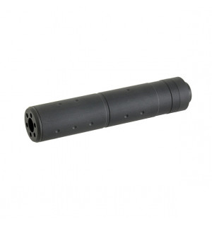 155X30MM DUMMY SOUND SUPPRESSOR - BLACK